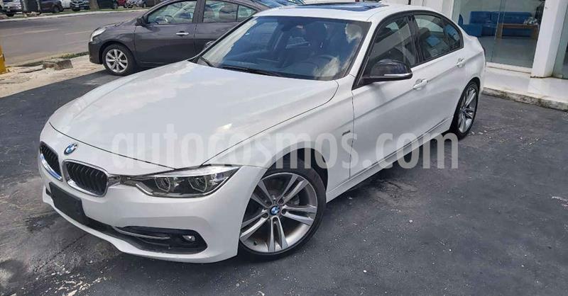 BMW Serie 3 330iA Sport Line usado (2018) color Blanco precio $329,800
