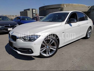 BMW Serie 3 4p 320i Sport Line L4/2.0/T Aut usado (2017) color Blanco precio $400,000