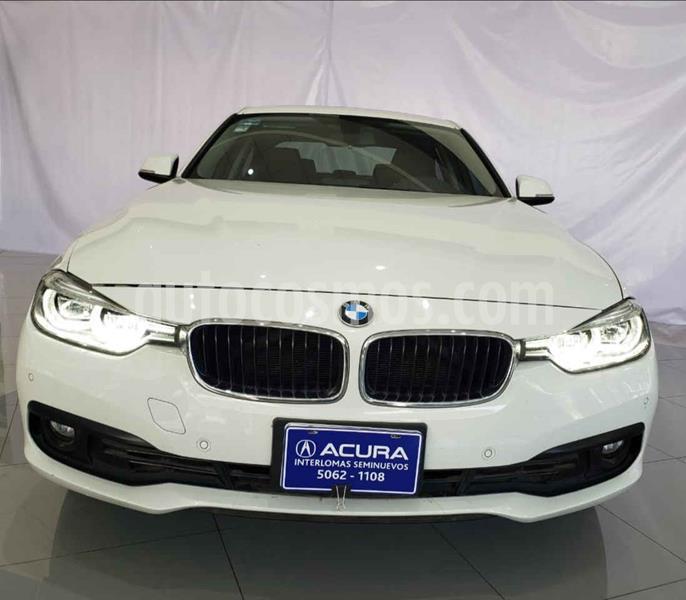 Foto BMW Serie 3 4p 320i Sport Line L4/2.0/T Aut usado (2017) color Blanco precio $380,000