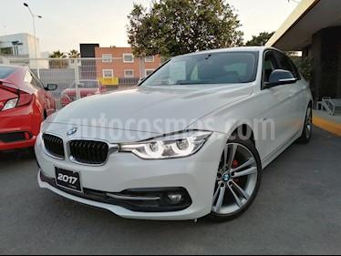 BMW Serie 3 320i Sport Line  usado (2017) color Blanco Alpine precio $395,000
