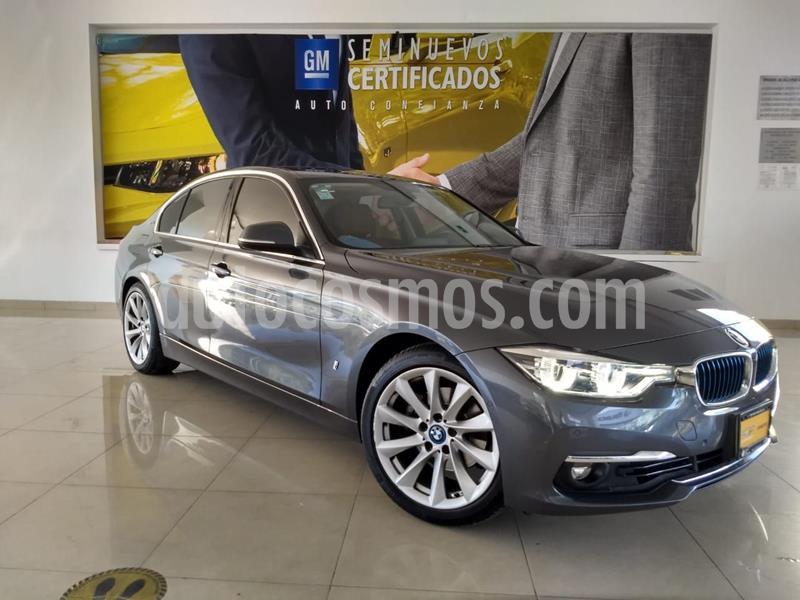 BMW Serie 3 330e Luxury Line (Hibrido) Aut usado (2017) color Gris precio $438,600