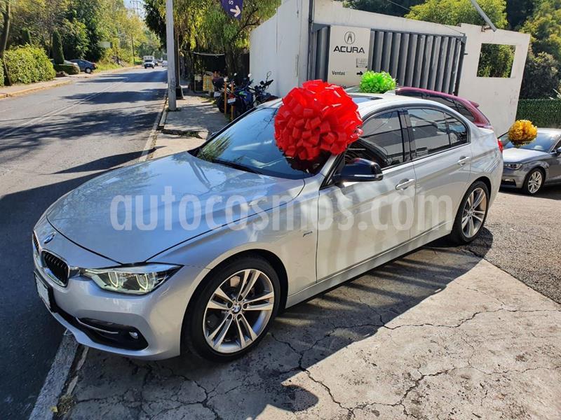 BMW Serie 3 330iA Sport Line Plus usado (2017) color Plata Dorado precio $390,000