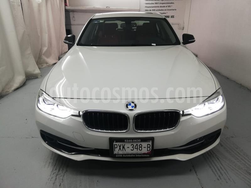 BMW Serie 3 330iA Sport Line usado (2016) color Blanco precio $385,000