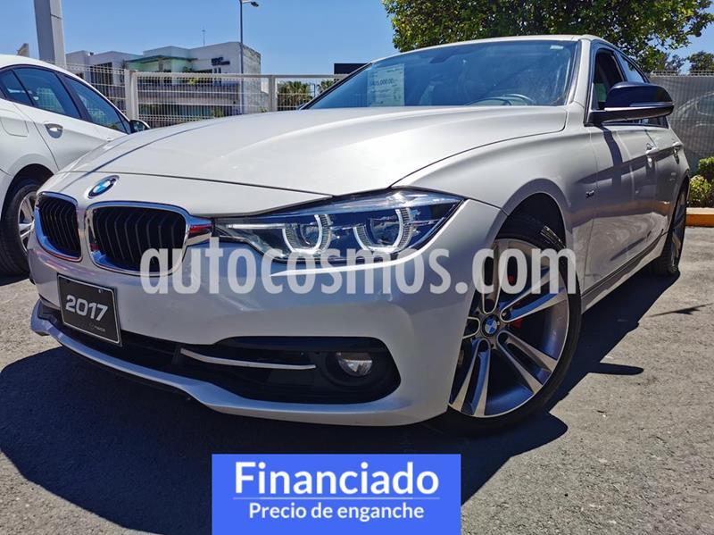 BMW Serie 3 320i Sport Line  usado (2017) color Blanco Alpine precio $93,750