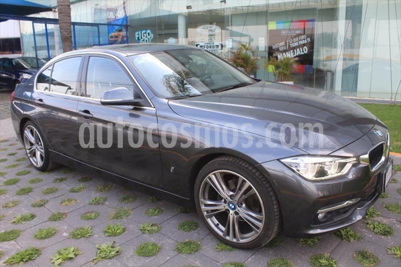 BMW Serie 3 330e Luxury Line (Hibrido) Aut usado (2017) color Gris Oscuro precio $370,000