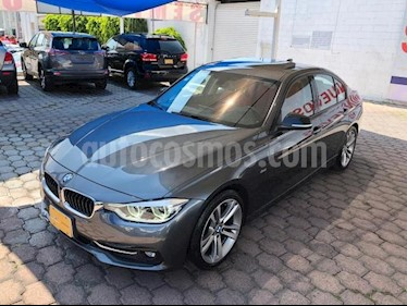 BMW Serie 3 4P 330I SPORT LINE L4/2.0/T AUT usado (2017) color Gris precio $482,000