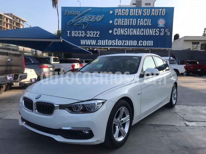 BMW Serie 3 320iA Luxury Line usado (2016) color Blanco precio $319,900