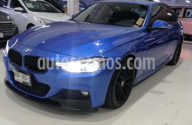 BMW Serie 3 320iA M Sport  usado (2018) color Azul precio $449,100