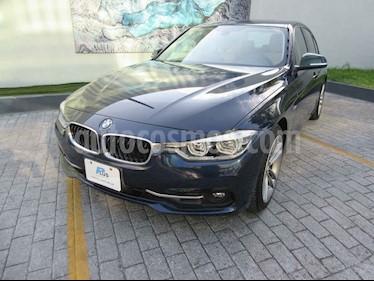 BMW Serie 3 320iA Sport Line usado (2016) color Azul precio $330,000