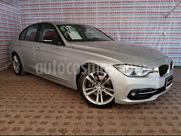 BMW Serie 3 320i Sport Line  usado (2018) color Plata precio $455,000