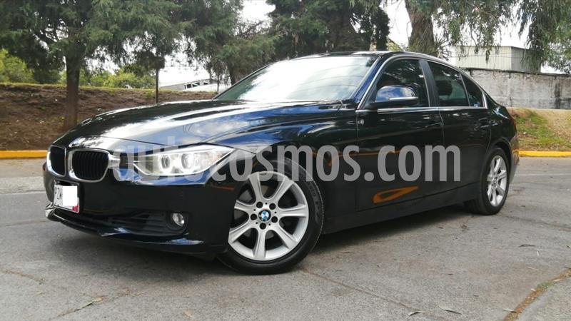 BMW Serie 3 320iA usado (2014) color Negro precio $210,000