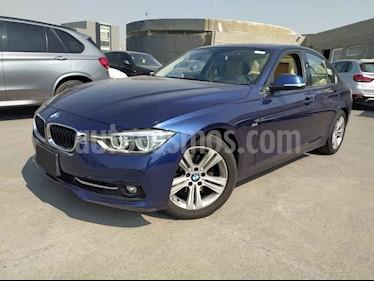BMW Serie 3 4p 320i Sport Line L4/2.0/T Aut usado (2017) color Azul precio $395,000