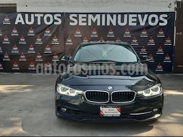 BMW Serie 3 320i Sport Line  usado (2017) color Negro Zafiro precio $415,000