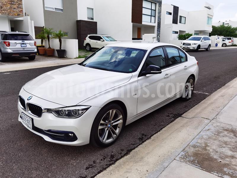 BMW Serie 3 318iA Sport Line usado (2017) color Blanco Alpine precio $325,000
