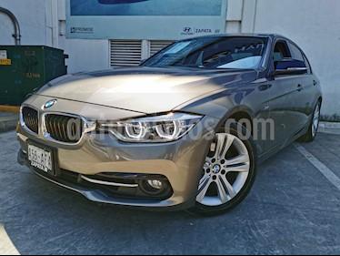 BMW Serie 3 320i Sport Line  usado (2016) color Plata precio $344,900