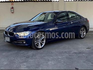 BMW Serie 3 4p 330i Sport Line L4/2.0/T Aut usado (2018) color Azul precio $399,900