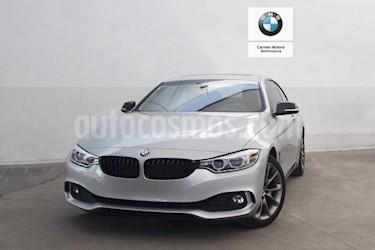 Foto venta Auto usado BMW Serie 4 420iA Coupe Aut (2016) color Plata precio $455,000