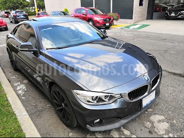 BMW Serie 4 420iA Coupe Executive Aut usado (2016) color Gris Mineral precio $319,000