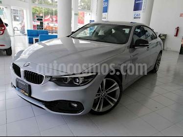 Foto venta Auto usado BMW Serie 4 420iA Coupe Sport Line Aut (2019) color Plata precio $529,900
