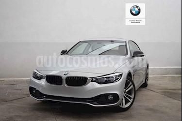 Foto venta Auto usado BMW Serie 4 420iA Coupe Sport Line Aut (2019) color Plata precio $693,500