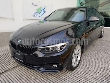 Foto venta Auto usado BMW Serie 4 420iA Coupe Sport Line Aut (2018) color Negro Zafiro precio $525,000