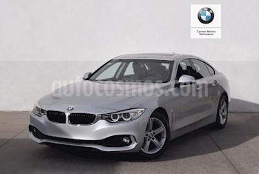 Foto venta Auto usado BMW Serie 4 420iA Gran Coupe Aut (2017) color Plata precio $460,000