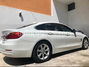 BMW Serie 4 420iA Gran Coupe Aut usado (2017) color Blanco precio $415,000