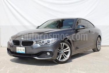 Foto venta Auto usado BMW Serie 4 428iA Coupe Sport Line Aut (2016) color Gris precio $449,000
