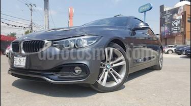 Foto venta Auto usado BMW Serie 4 430iA Coupe Sport Line Aut (2018) color Gris precio $590,000