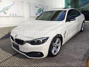 Foto venta Auto usado BMW Serie 4 430iA Coupe Sport Line Aut (2018) color Blanco Mineral precio $565,500