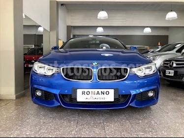BMW Serie 4 440i Paquete M Cabriolet usado (2017) color Azul precio u$s75.000