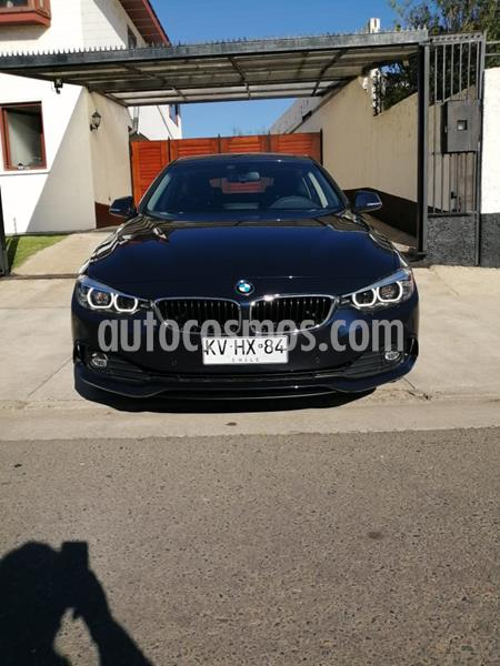 foto BMW Serie 4 420i Gran Coupé  usado (2018) color Azul precio $23.500.000