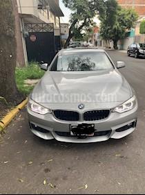 BMW Serie 4 435iA Coupe Sport Line Aut usado (2015) color Plata Titanium precio $400,000