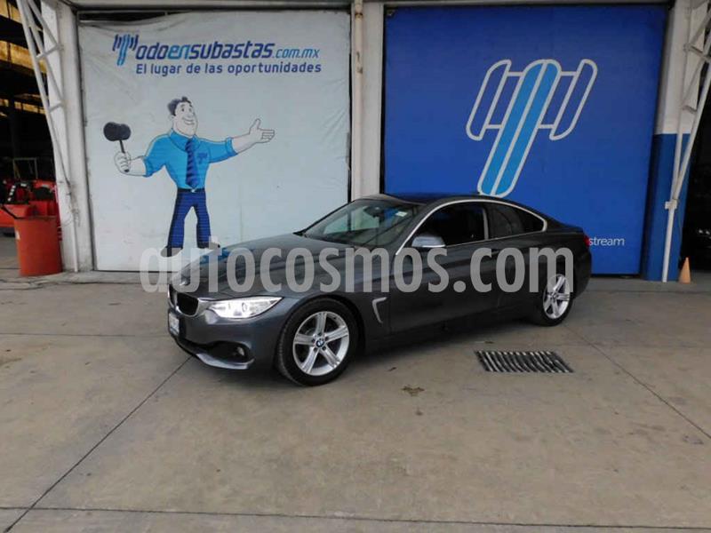 BMW Serie 4 420iA Coupe Aut usado (2017) color Gris precio $245,000