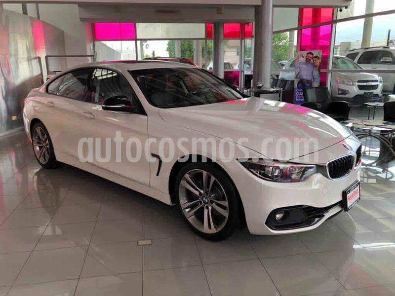 BMW Serie 4 420iA Coupe Sport Line Aut usado (2019) color Blanco precio $509,000