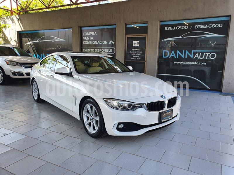 BMW Serie 4 420iA Gran Coupe Executive Aut usado (2017) color Blanco precio $379,000