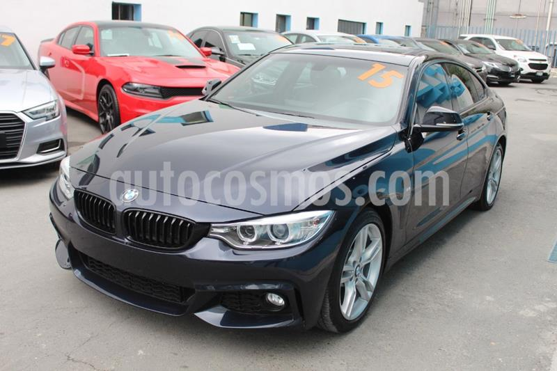 BMW Serie 4 435iA Gran Coupe M Sport Aut usado (2015) color Azul Oscuro precio $449,000