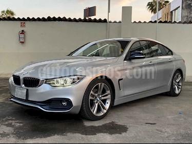 BMW Serie 4 2p 420i Coupe Sport Line L4/2.0/T Aut usado (2019) color Plata precio $459,900