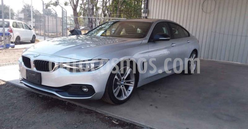 BMW Serie 4 420iA Coupe Sport Line Aut usado (2019) color Plata precio $429,900