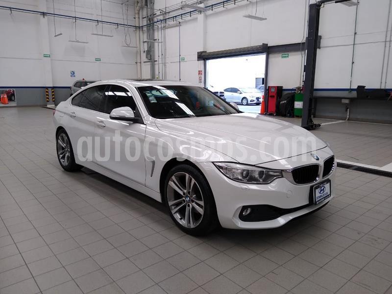 BMW Serie 4 420iA Gran Coupe Executive Aut usado (2017) color Blanco precio $365,000