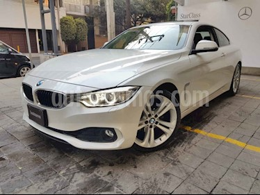 BMW Serie 4 2p 420i Coupe L4/2.0/T Aut usado (2017) color Blanco precio $425,000