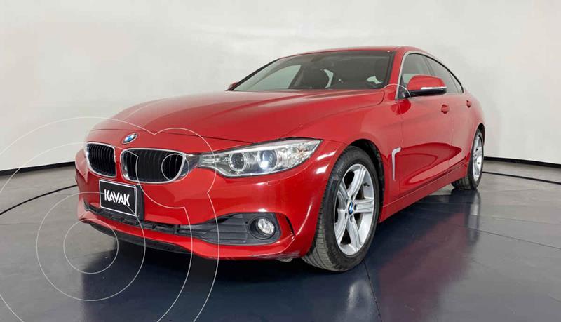 Foto BMW Serie 4 420iA Gran Coupe Aut usado (2017) color Rojo precio $392,999