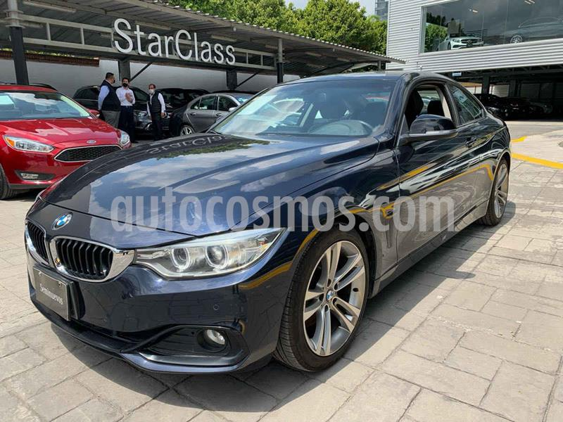 BMW Serie 4 428iA Coupe Sport Line Aut usado (2016) color Azul precio $405,000