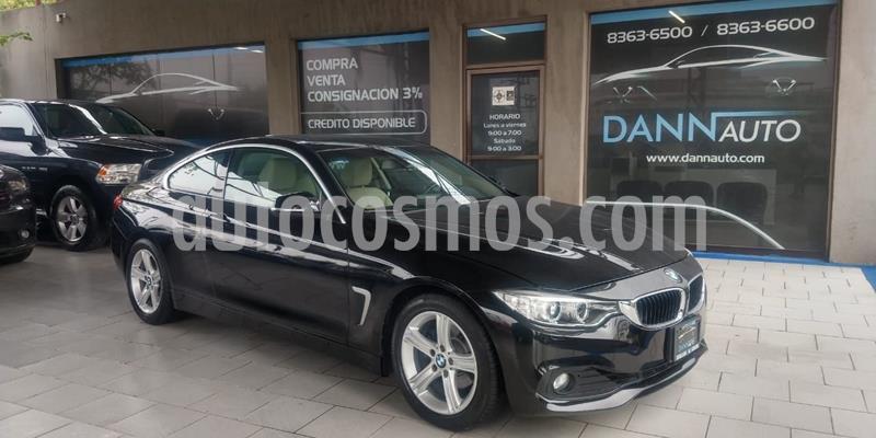 BMW Serie 4 420iA Coupe Aut usado (2017) color Negro precio $389,000