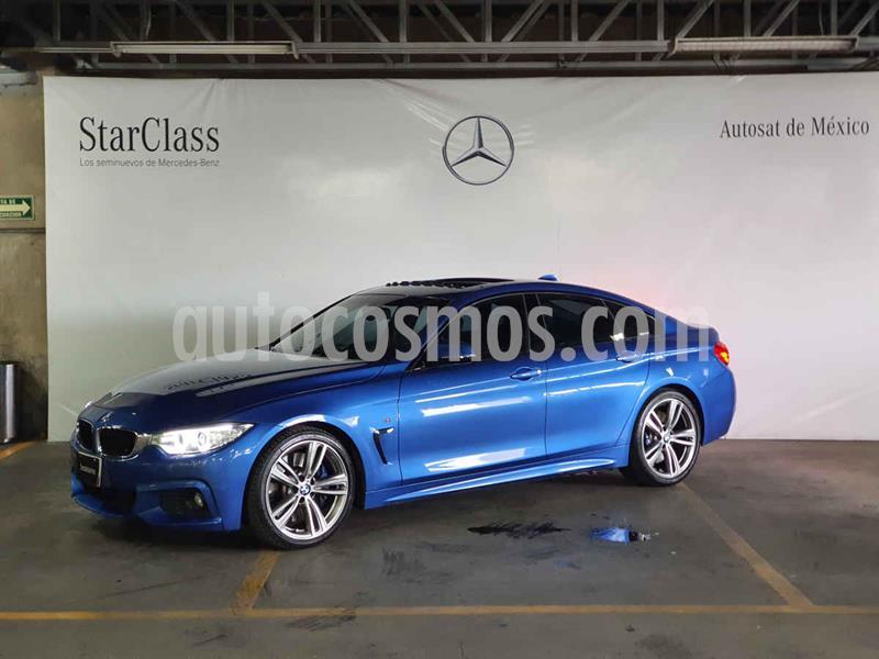 Foto BMW Serie 4 435iA Gran Coupe M Sport Aut usado (2015) color Azul precio $479,000