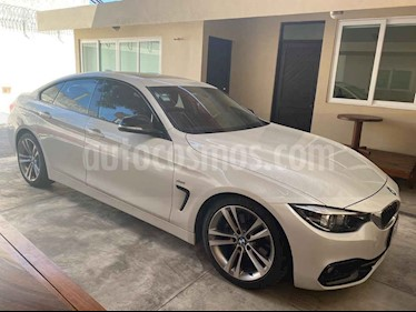 BMW Serie 4 2p 430i G Coupe Sport Line L4/2.0/T Man usado (2018) color Blanco precio $529,900