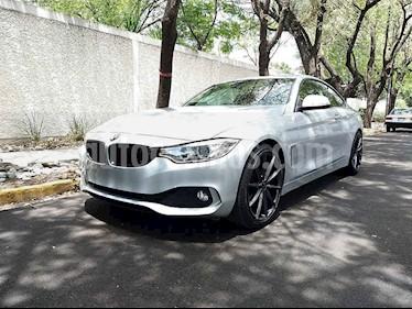 BMW Serie 4 420iA Coupe Aut usado (2016) color Gris precio $370,000