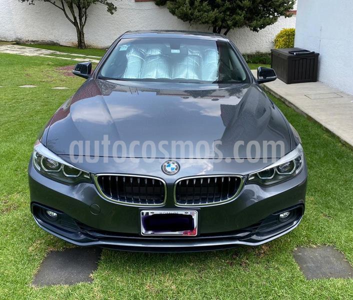 BMW Serie 4 420iA Coupe Sport Line Aut usado (2019) color Gris Mineral precio $480,000
