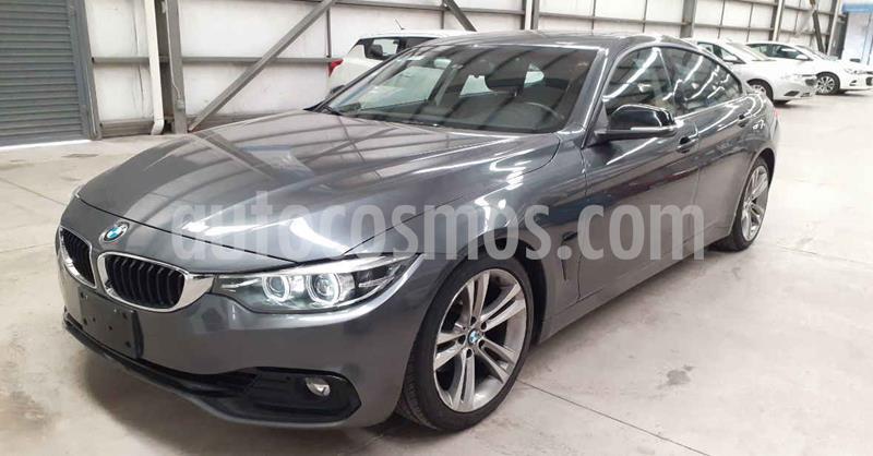 BMW Serie 4 420iA Coupe Sport Line Aut usado (2019) color Gris precio $439,900