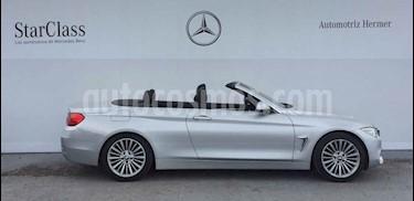 Foto BMW Serie 4 428iA Cabrio Luxury Line Aut usado (2014) color Plata precio $359,900